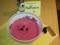 Рецепт Холодный вишневый суп рецепт с фото