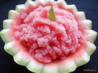 Рецепт Сорбе из арбуза с жасминовым чаем рецепт с фото