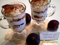 Рецепт Десерт творожный с нектаринами рецепт с фото