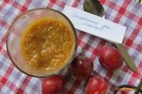 Рецепт Сливово-яблочный десерт рецепт с фото