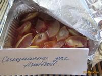 Рецепт Запеченные яблоки со сливами рецепт с фото