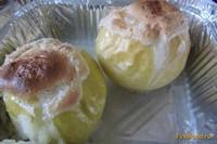 Рецепт Запечные яблочки с безе рецепт с фото