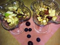 Рецепт Салат Фруктовое изобилие рецепт с фото