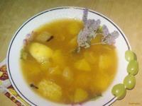 Рецепт Цитрусовый суп рецепт с фото