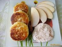 Рецепт Сырники с яблоком рецепт с фото