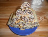 Рецепт Блинчики с рисом и маком рецепт с фото