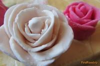 Рецепт Бутоны роз из мастики рецепт с фото