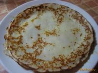 Рецепт Блины на кефире заварные рецепт с фото