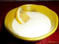 Рецепт Ванильно-лимонный творожный десерт рецепт с фото