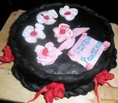Рецепт Торт ягодный со сметаной и мастикой рецепт с фото