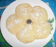 Рецепт Сырники творожные в микроволновой печи с сахарной пудрой рецепт с фото