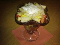 Рецепт Салат-коктейль с арбузом рецепт с фото