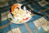 Рецепт Сметанный торт с фруктами рецепт с фото
