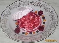 Рецепт Десерт зимняя вишня рецепт с фото