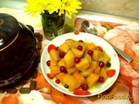 Рецепт Тыква в горшочках рецепт с фото