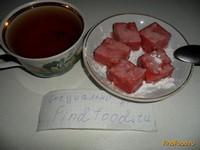 Рецепт Клубничный рахат-лукум рецепт с фото