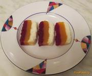 Рецепт Десерт Ягодная мозаика рецепт с фото