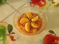 Рецепт Морковный десерт с мандарином и шоколадом рецепт с фото