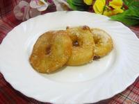 Рецепт Пончики яблочные рецепт с фото