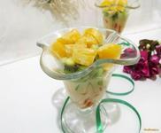Рецепт Десерт фруктовый рецепт с фото
