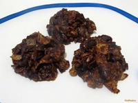 Рецепт Быстрое шоколадное печенье рецепт с фото