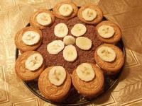 Рецепт Творожный десерт с печеньем и фруктами рецепт с фото