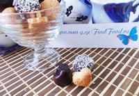 Рецепт Бисквитное печенье в шоколадной глазури за полчаса рецепт с фото
