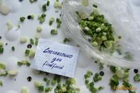 Рецепт Замороженный зеленый лук рецепт с фото