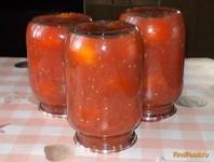 Рецепт Помидоры в собственном соку рецепт с фото