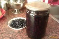 Рецепт Черника в легком сиропе на зиму рецепт с фото