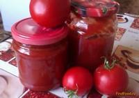 Рецепт Домашняя томатная паста рецепт с фото