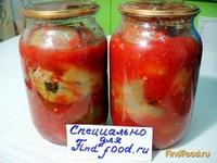Рецепт Перец фаршированный баклажанами рецепт с фото