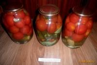 Рецепт Консервированные овощи Лето в банке рецепт с фото