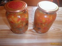 Рецепт Салат на зиму Щедрое лето рецепт с фото