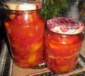 Рецепт Маринованный болгарский перец рецепт с фото