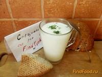 Рецепт Айран из коровьего молока на кефире рецепт с фото