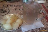Рецепт Компот из инжирных персиков рецепт с фото