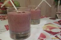 Рецепт Молочный коктейль с земляникой рецепт с фото
