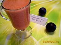 Рецепт Сливовый сок с мякотью рецепт с фото