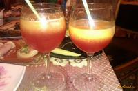 Рецепт Персиковый коктейль с малиновым ликером рецепт с фото