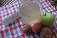 Рецепт Яблочно-персиковый компот рецепт с фото