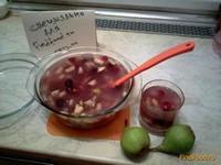 Рецепт Кисель с грушами и ягодами рецепт с фото