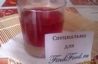 Рецепт Грушевый компот с вишней рецепт с фото