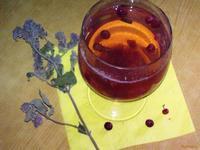 Рецепт Бруснично-мятный компот рецепт с фото