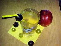 Рецепт Компот из винограда и нектарина рецепт с фото