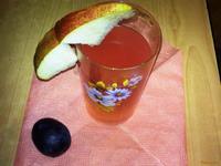 Рецепт Грушево-сливовый компот рецепт с фото