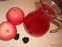 Рецепт Компот из яблок и ежевики рецепт с фото