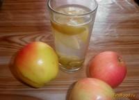 Рецепт Яблочный компот с виноградом рецепт с фото