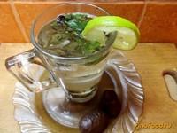 Рецепт Зеленый чай с лаймом и барбарисом рецепт с фото
