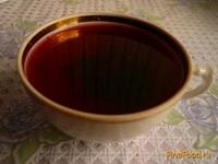 Рецепт Компот из черноплодной рябины с яблоком и мятой рецепт с фото